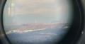7 右側が雪を被った比良山系の蓬莱山 大