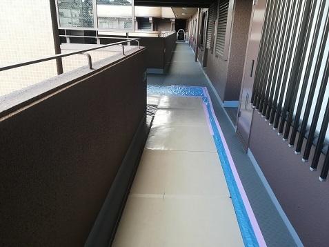 6 共用廊下の傷防止・保護