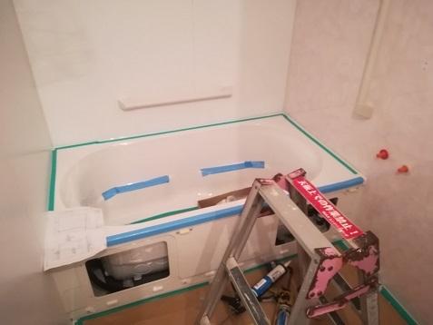 14 浴槽の組み立て