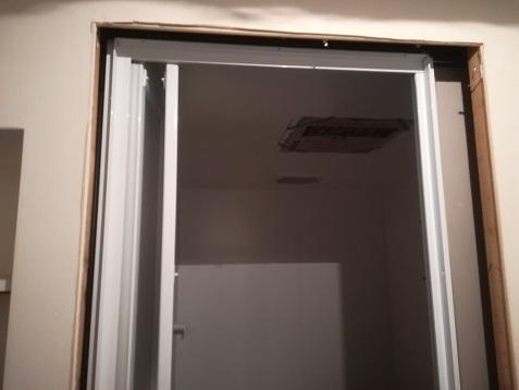 16 浴室ドア周辺部は、明日の作業予定