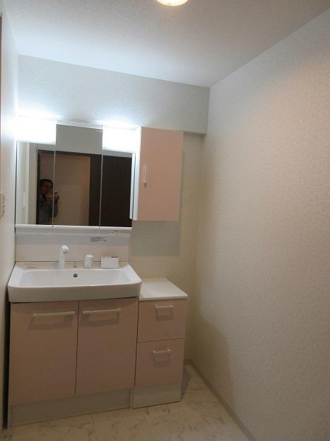 2 洗面室の完成