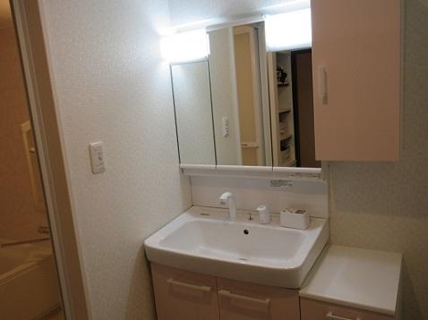 4 洗面室の完成