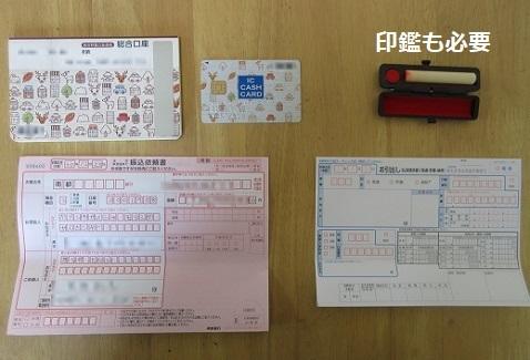 3 印鑑と書類