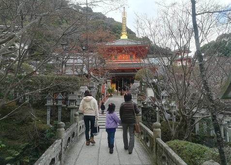 5 信貴山・朝護孫子寺 宝寿橋と成福院
