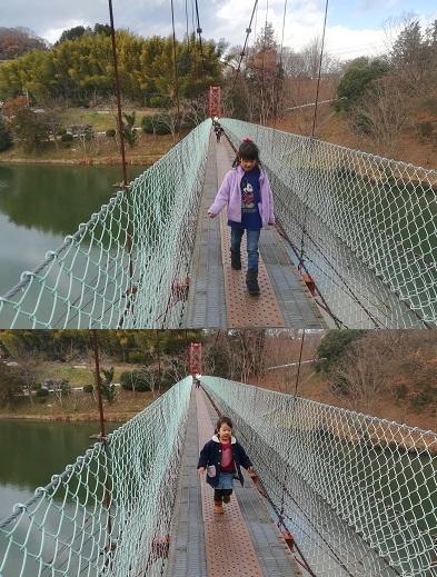 9 とっくり湖の吊橋