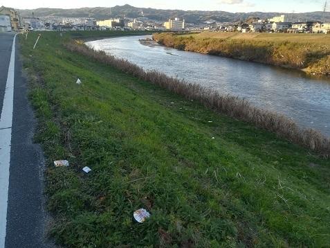 3 大和川のゴミ・散乱