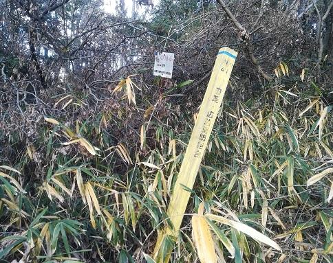 10 消防組合の表示・杭と標識