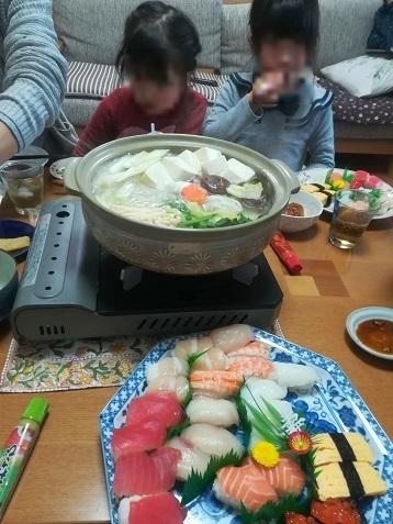 9 鍋料理とお寿司