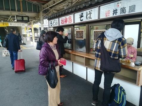 8 米原駅の立ち食いうどん蕎麦