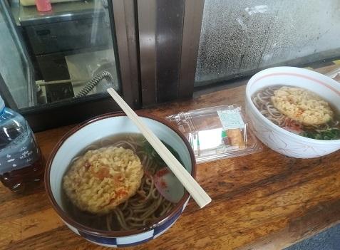 9 米原駅の立ち食いうどん蕎麦