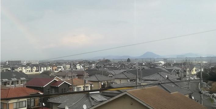 23 近江富士が見えた