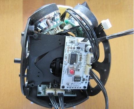 4 基板をの頭部に積載 配線処理