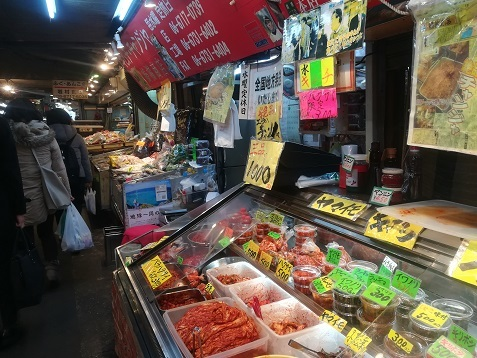 4 鶴橋の商店街