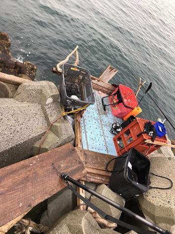 1月15日 南釣り場