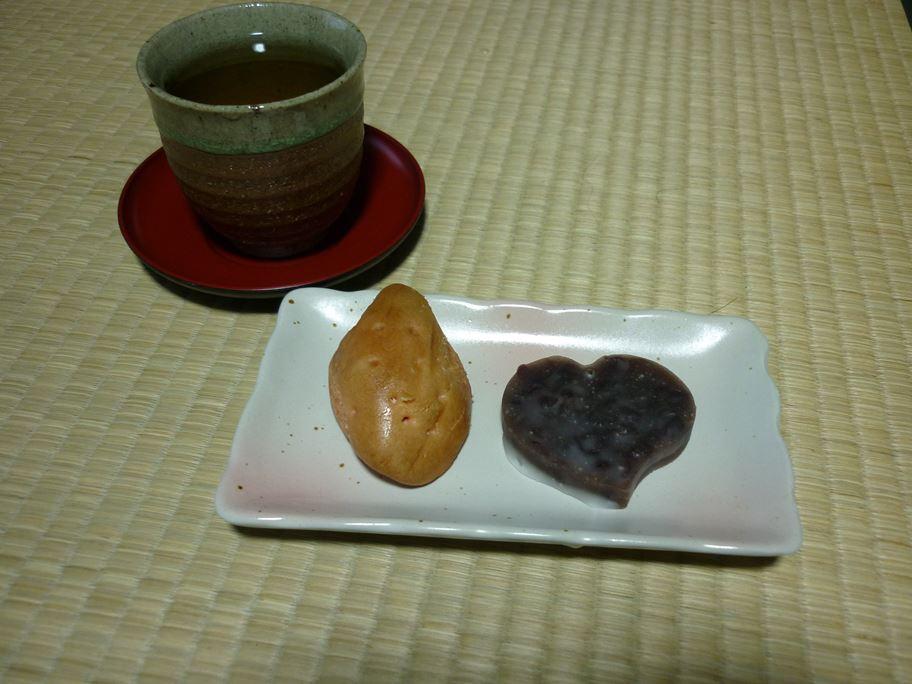 黄金芋と賀茂葵