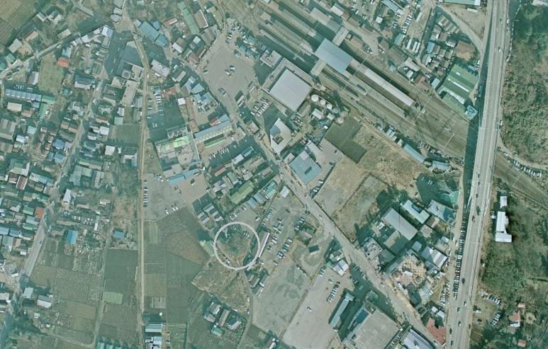 06 稲荷塚周辺航空写真(昭和50年)