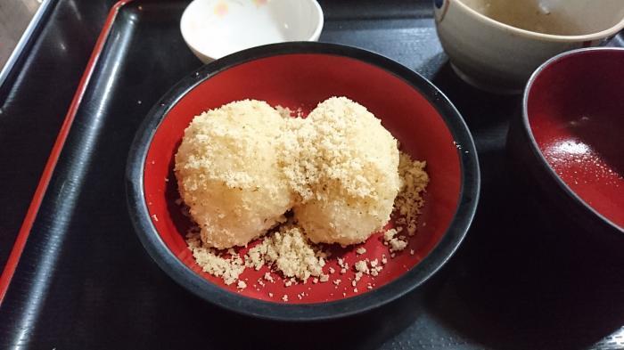 くるみおはぎ定食4