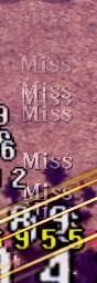 MISSの連続