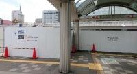 海浜幕張駅前の工事
