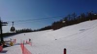 ゴンドラもあるスキー場