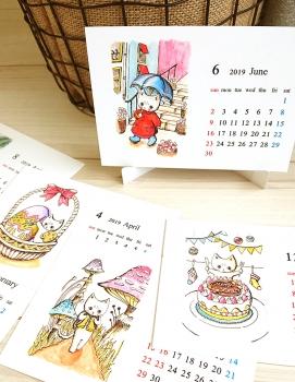 卓上カレンダー2019_1
