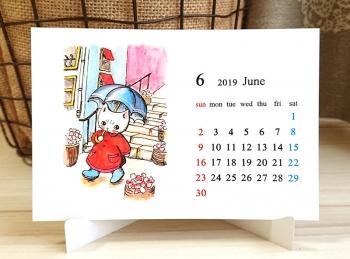 卓上カレンダー2019_5