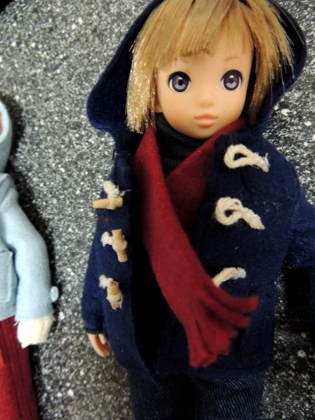 モモちゃんにも 暖かいコートを~!