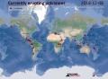 1208現在活動中の世界火山