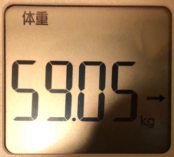 190128今朝の体重
