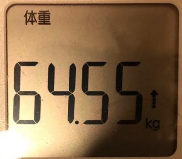 190225今朝の体重