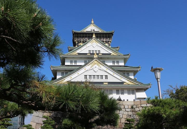 大阪城 30 10 25