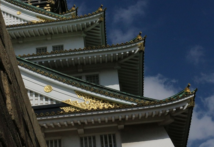 大阪城の屋根 30 10 25