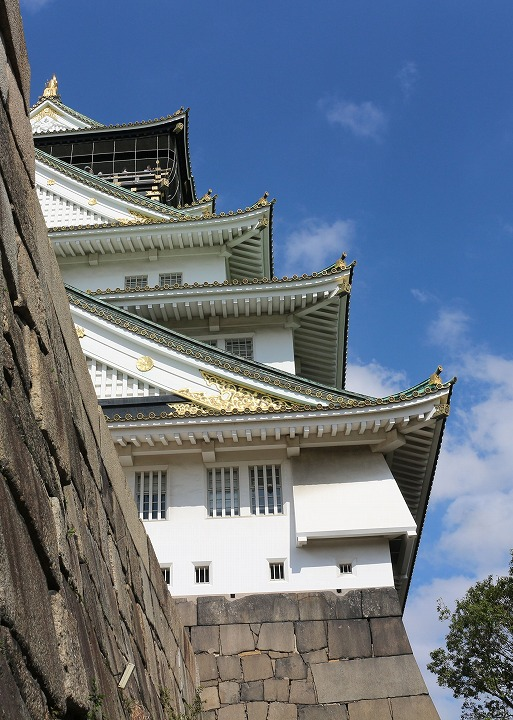 大阪城下りてきてから 30 10 25