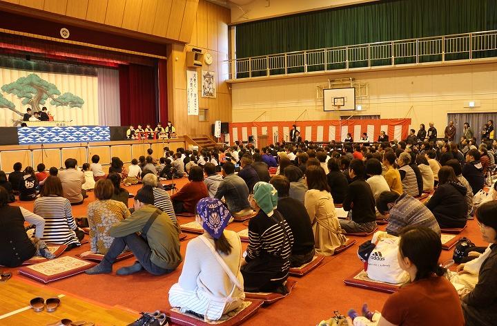 文化祭当日 5年の戎舞 バッチリ 30 11 11