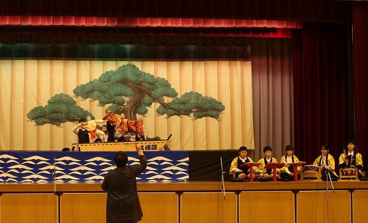 5年生戎舞 最後の練習 30 11 9