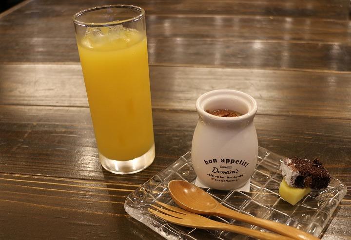 飲み物とデザート 30 11 17