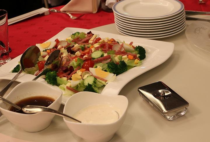 冷野菜サラダ 30 11 24
