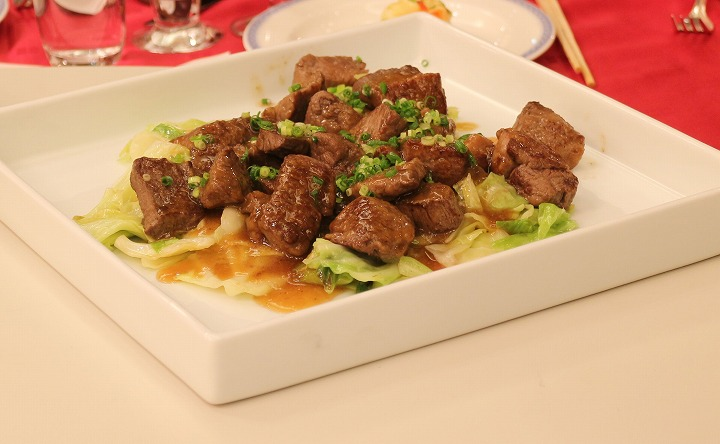 牛肉温野菜添え 30 11 24