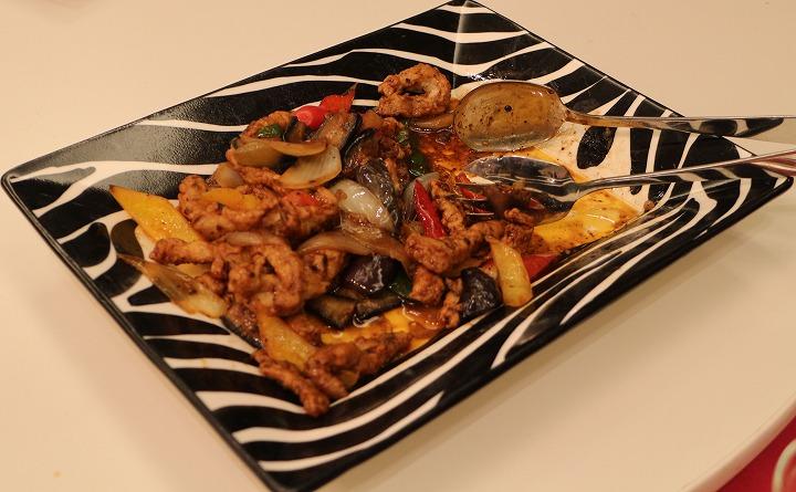 肉と野菜の中華炒め 30 11 24