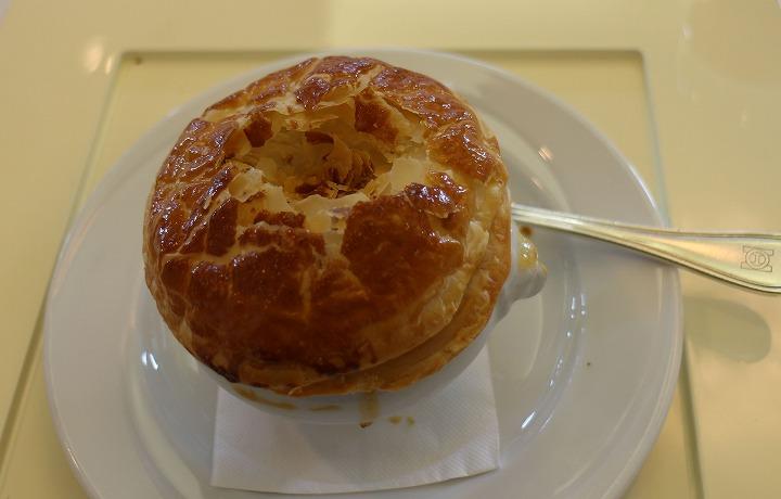 キノコのスープパイ包み焼き 30 12 12