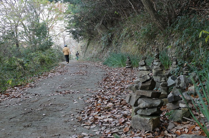 爺神山の遍路道 30 12 15