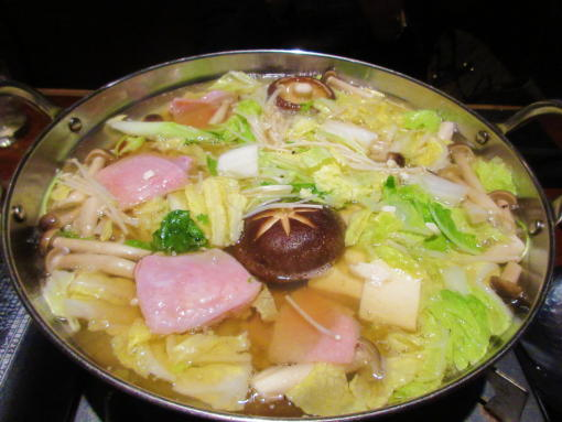 207  鍋煮てる途中(1)