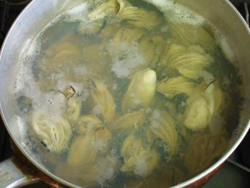 211  牡蠣下茹で(1)