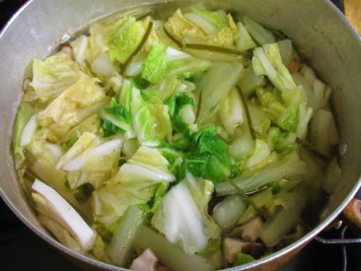 221  白菜椎茸煮(1)