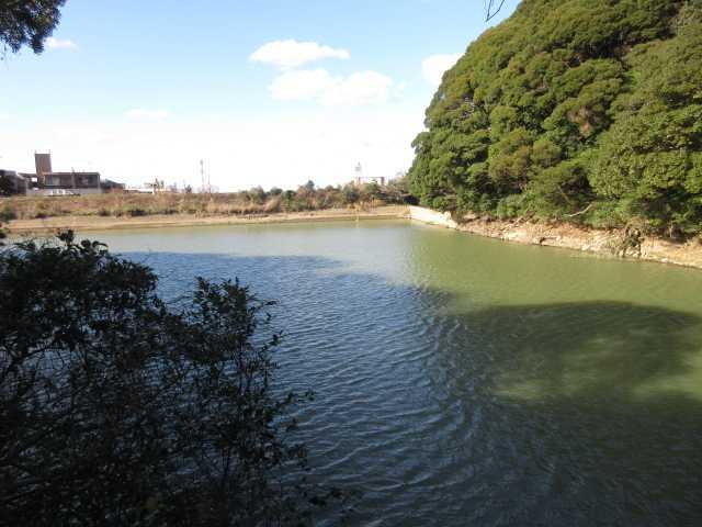 IMG0050JPG大谷池横を通る