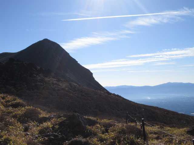IMG0021JPGシルエットの久住山