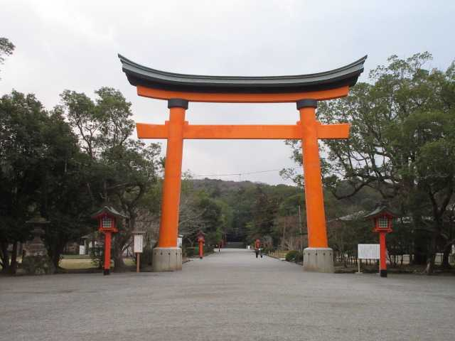 IMG0001JPG朝の宇佐神宮
