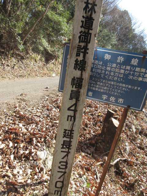IMG0121JPG林道起点