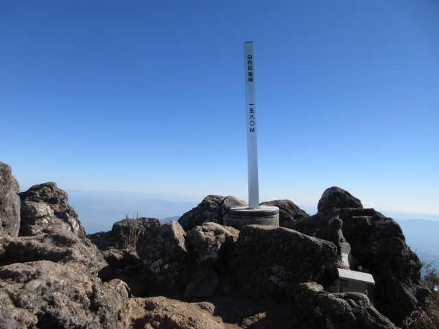 IMG0060JPG冬晴れの東峰山頂