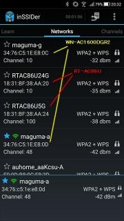 inSSIDer RT-AC86U